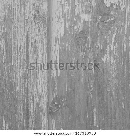 gray old wooden background. Vector - stock vector