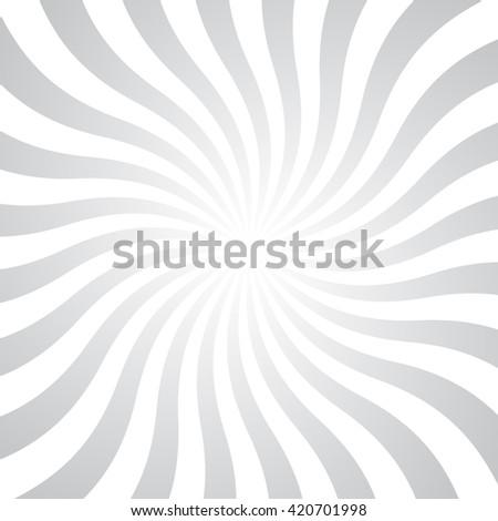 Gray rays poster. Popular ray star burst background television vintage. Retro art design. Sun glow bright pattern. Vector Illustration. - stock vector
