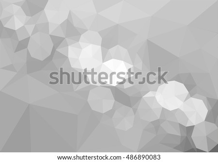 gray triangles abstract background.