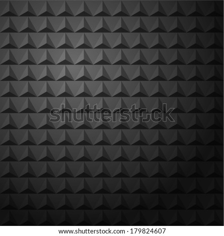 Gray Triangles Studded Abstract Vector Background eps10