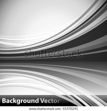 Grayscale Background - stock vector