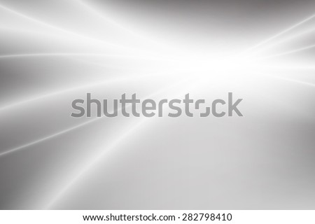 Grayscale light gradient abstract background with copy space - stock vector