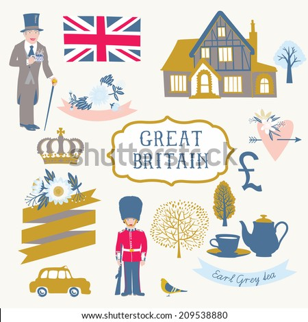 Great Britain - stock vector