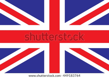 Great britain vector flag