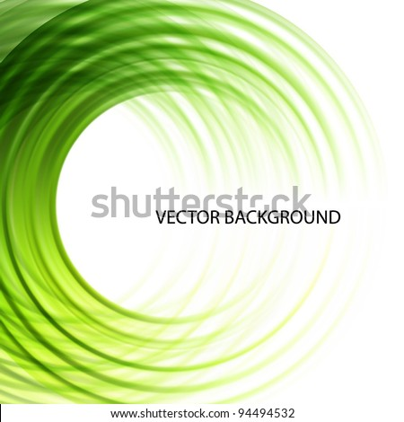 Gree abstract vector background - stock vector
