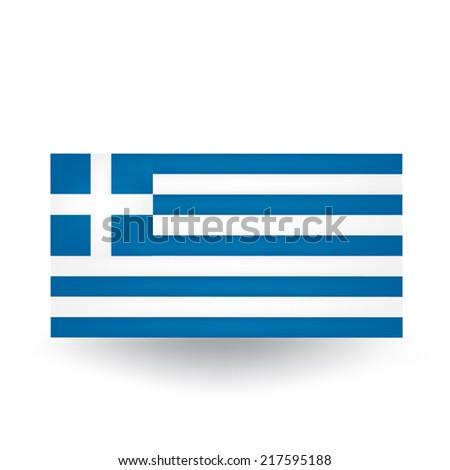 Greece Flag - stock vector