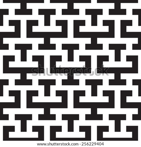 Greece vintage ethnic seamless pattern. Meander. Folk abstract repeating background texture. Cloth design. Wallpaper. Mosaic. - stock vector