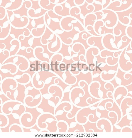 Green abstract seamless  pattern - stock vector