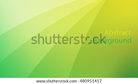 green and Yellow color background abstract art vector