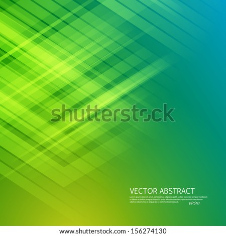 Green background. Vector illustration for your business presentations. EPS10. - stock vector