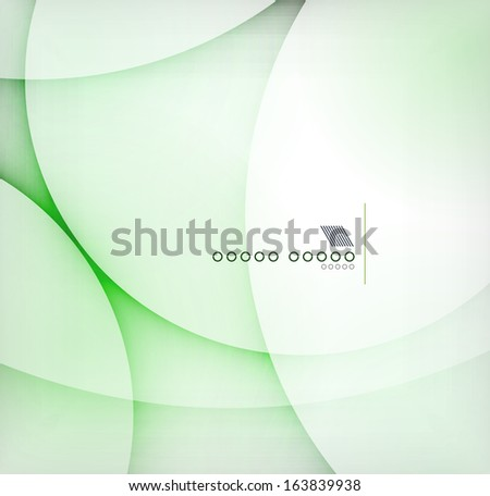 Green blur abstract vector background - stock vector