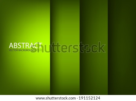 Green board background vector document for text and message design for brochure and web modern artwork