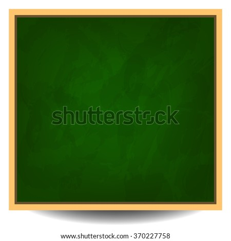 Green chalkboard background vector illustration eps 10 - stock vector