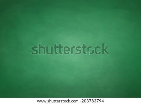 Green chalkboard background.Vector texture. - stock vector