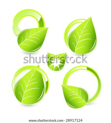 Green concepts - stock vector