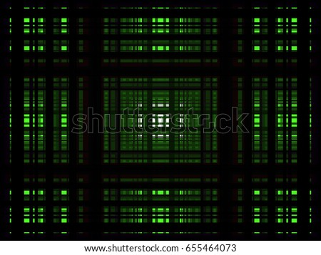 green 3D rectangle background