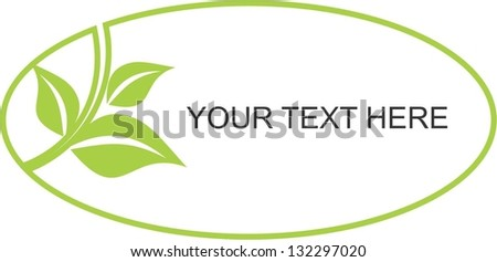 Green Eco - stock vector