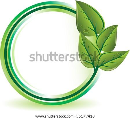 Green ecology concept - stock vector