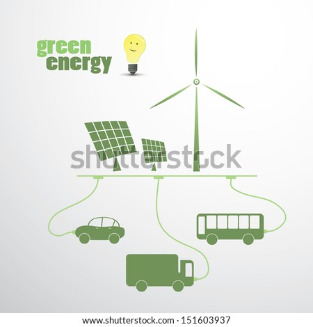Green Energy | Eco Vector Illustration