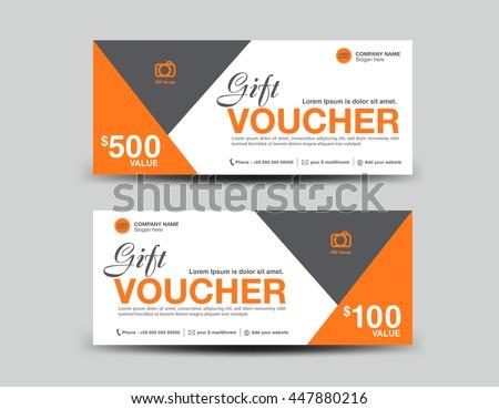 Green Gift Voucher Template Flyer Design Stock Vector HD (Royalty ...