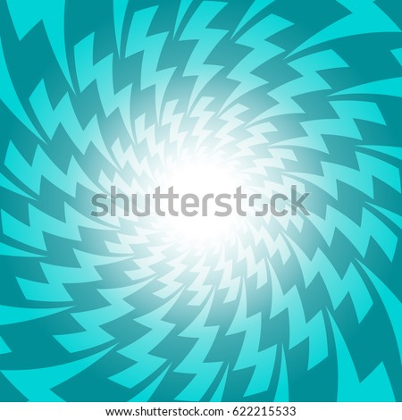 Green Lightening Electric Spark Discharge Vector Design For Abstract Background Concept