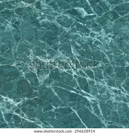 Green malachite seamless background. - stock vector