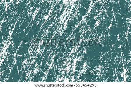 green paint. white scratches. grunge texture. vector background