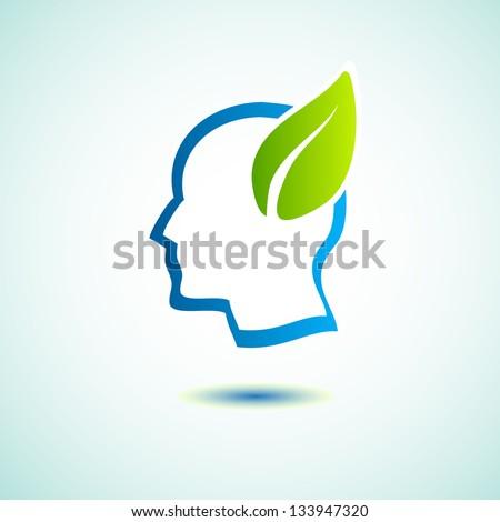 green save earth concept - stock vector