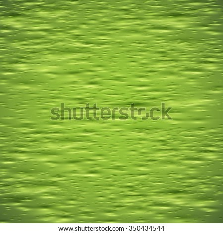 Green slime skin, vector - stock vector