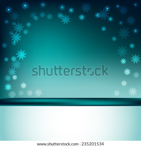 green snow sparkle background