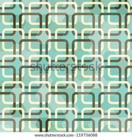 green square seamless - stock vector