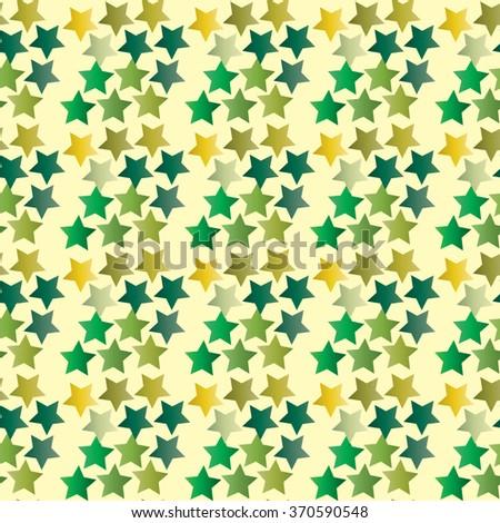 Green Star. Star pattern. Star background. Star. Stars. Military. Khaki. Green. February 23. 9th May. defender's Day - stock vector