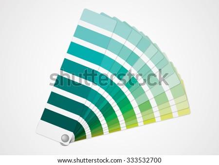 Green tone - stock vector