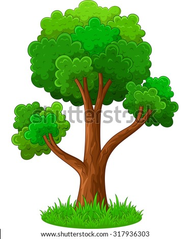 Cartoon Tree Stock Images, Royalty-Free Images & Vectors ...