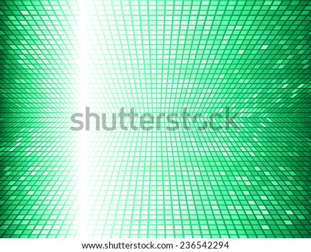 green Vector abstract design. pixels mosaic background computer graphic website and internet.  - stock vector