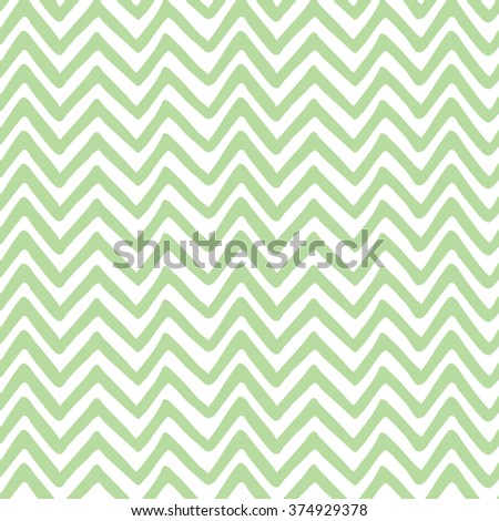 Green wave seamless hand painted pattern. Nature eco fabric texture. Vector template for ecology, bio or farm background.  Decoration tile or print. Eco ornament. For wrap or cloth. - stock vector