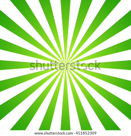Green White Sunbeam Background Striped Abstract Wallpaper