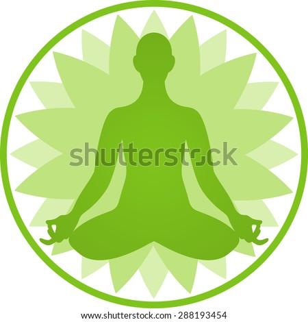Yoga Symbol Stock Vector 157260254 - Shutterstock