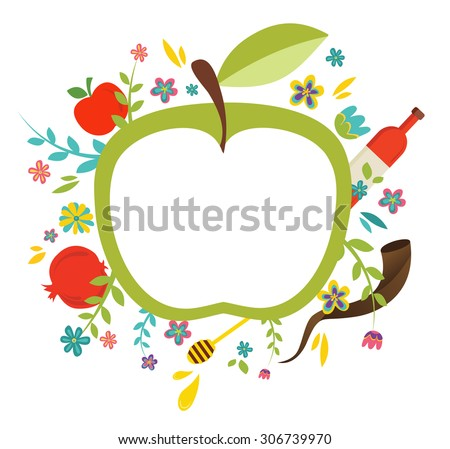 Greeting card design jewish new year stock photo photo vector greeting card design for jewish new year rosh hashanah vector illustration m4hsunfo