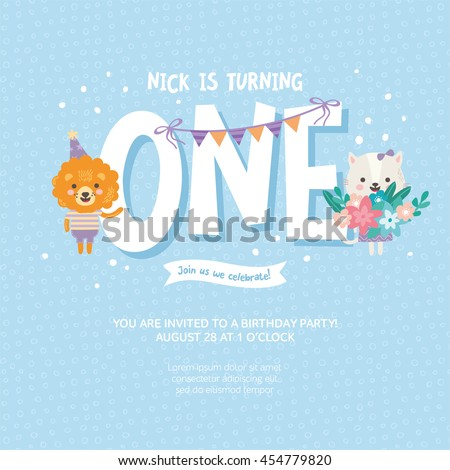 a birthday invitation