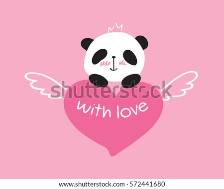 Greeting Card Valentines Day Birthday Mothers Stock Vector 572441680