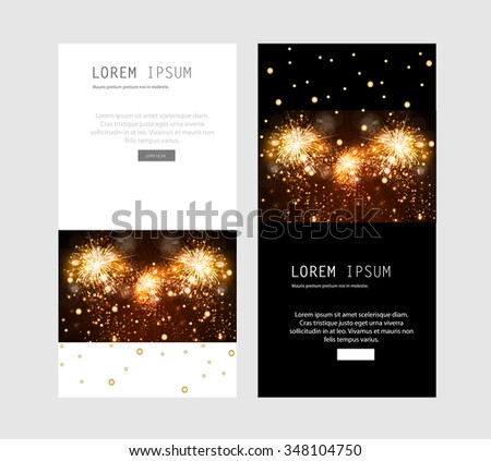Greeting Card you can easy all editable - stock vector