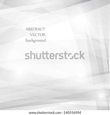 Grey abstract background for design. Vector EPS10 - stock vector