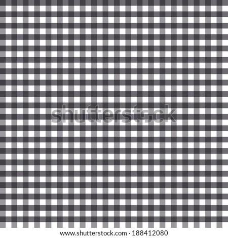 Grey checkered kitchen background - stock vector