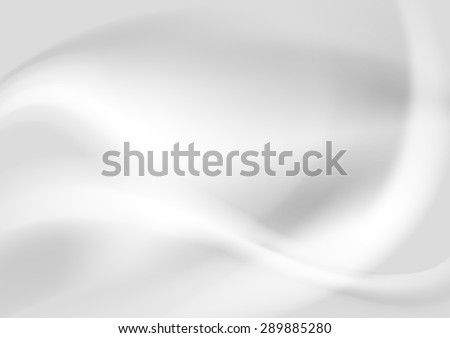 Grey pearl abstract elegant waves design. Vector background - stock vector