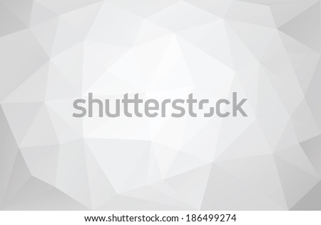 Greyscale triangular abstract background - stock vector