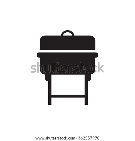 Grill BBQ Vector - stock vector