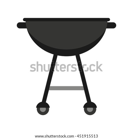 grill equipment isolated icon design, vector illustration  graphic