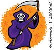 Grim Reaper - stock vector