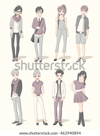 Anime Girl Stock Images Royalty Free Vectors